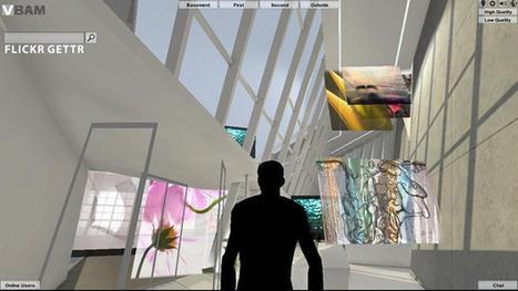 Le Virtual Broad Art Museum expose des oeuvres numériques interactives et innovantes   Culture & Numérique   Scoop.it