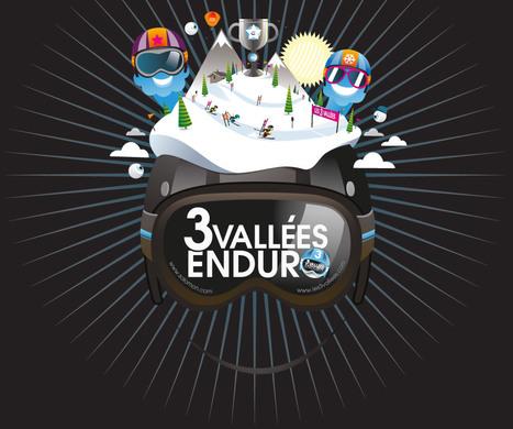 3 Vallées Enduro - dim 7 avril - inscriptions ouvertes à tous | Actus Courchevel | Scoop.it