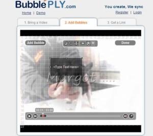 BubblePLY. Añade burbujas y comentarios a vídeos de youtube | Tic, Tac... y un poquito más | Scoop.it