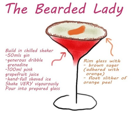 The Bearded Lady | Cocktails | Scoop.it