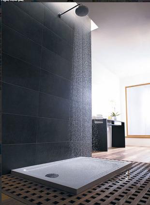 Receveur de douche extra-plat. Le design dans la salle de bains en XXL | La Revue de Technitoit | Scoop.it