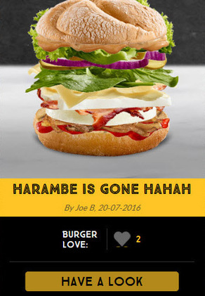 McDonalds let the internet create and name their own burgers and of course it backfired | Strange days indeed... | Scoop.it