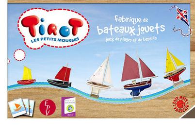 Jouets Bateaux Tirot : des bateaux 100% Breton ! C'est dans le prochain Business Club   Business Club de France   Scoop.it
