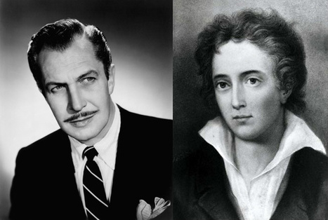 Vincent Price Reads the Poetry of Shelley; Ralph Richardson Reads the Poetry of Coleridge | English Language Teaching Journal | Scoop.it