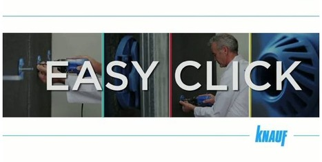 Isolation thermique par l'intérieur avec Easy Click (Knauf) | Bricolage - Le faire soi même | Scoop.it