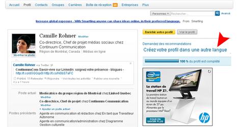 Creating your LinkedIn profile in differentlanguages | Recrutement, Emploi 2.0 | Scoop.it