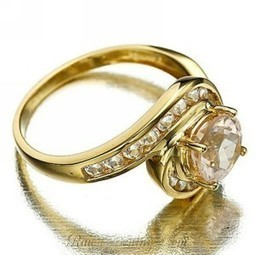 Cincin Ring 6 Champagne Topaz CZ | Womans Fashion, LifeStyle and Beauty | Scoop.it