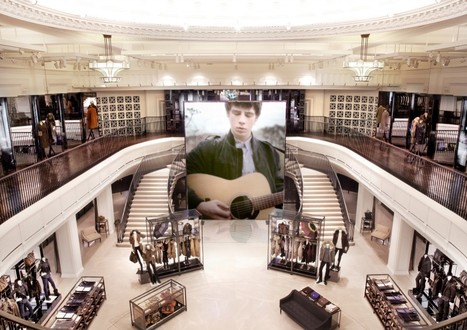 Burberry designs flagship London shop to resemble its website | Hair Beauty Trends | Scoop.it