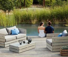 DIY outdoor garden furniture | Outdoors | Scoop.it