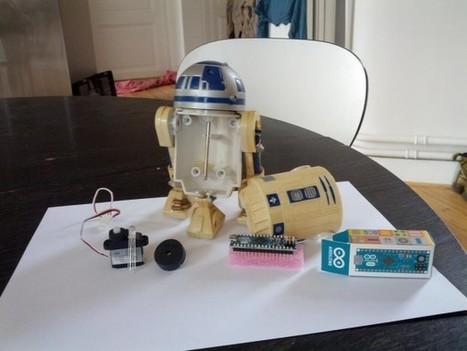 R2D2 is alive : Un Robot R2D2 customisé à la sauce Arduino | Semageek | DIY arduino et raspberry | Scoop.it