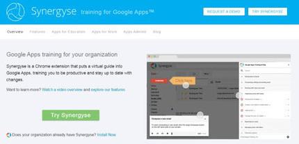 """Google adquiere Synergyse, el """"entrenador virtual"""" de Google Apps   Tecnologías educativas XXI   Scoop.it"""