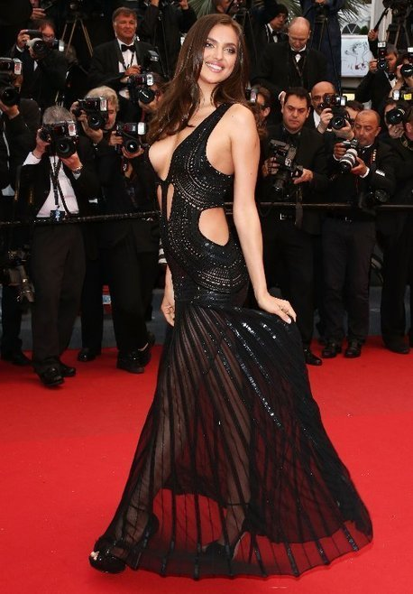 Irina Shayk: Super-Sexy Gown For 2013 Cannes | Red Carpet Fashion | Scoop.it