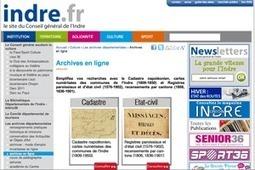 GénéInfos: Indre : l'état civil ancien est en ligne !   GenealoNet   Scoop.it