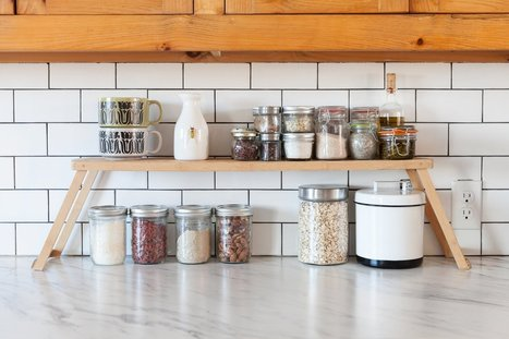 8 Ways to Create Extra Counter Space in a Tiny Kitchen — Tiny Kitchen Solutions | ♨ Family & Food ♨ | Scoop.it
