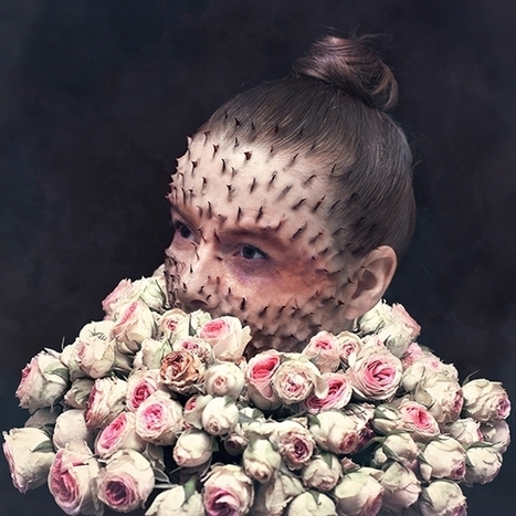 Photography that merges human portraits with plants and flowers | Creative Boom | Photography News Journal | Scoop.it