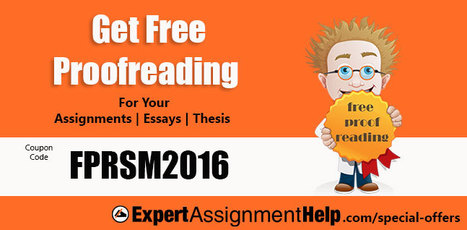 Get FREE proofreading and other offers on your assignments | Get assignment help | Scoop.it