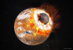 Un impact géant: le mystère de l'origine des lunes de Mars enfin percé - Communiqués et dossiers de presse - CNRS | Beyond the cave wall | Scoop.it