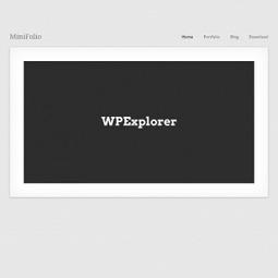 MiniFolio Free Portfolio WordPress Theme   Video Production   Scoop.it