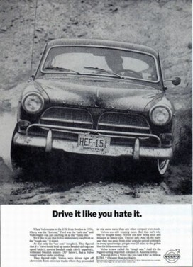 Volvo's Famous 'Drive It Like You Hate It' Ad Reimagined: Video | A Cultural History of Advertising | Scoop.it