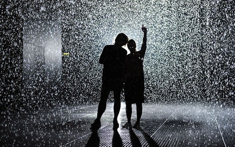 Control the weather in the Rain Room at the Curve, Barbican Centre, London - Telegraph | Venues 2013 | Scoop.it
