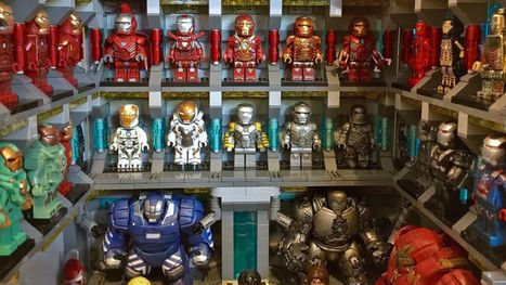 Talented Lego Customizer Recreates Iron Man's Vast Suit Collection Using Minifigs | HiddenTavern | Scoop.it