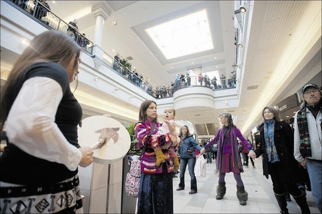 Flash mob marks first year of Idle No More - Regina Leader-Post | OCCUPY → INDIGENOUS NATIONHOOD MOVEMENT ← (INM) | Scoop.it