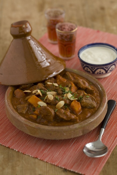 Moroccan Beef Tagine | Interestingly ... | Scoop.it