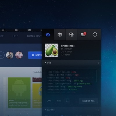 Avocode – Preview and inspect designs without Photoshop or Sketch. | plurilingüisme | Scoop.it