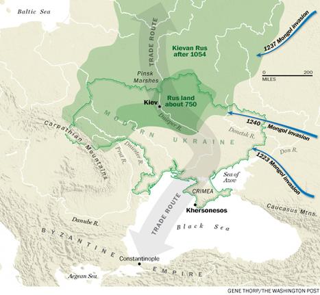 Maps: How Ukraine became Ukraine | L'histoire sur la toile | Scoop.it