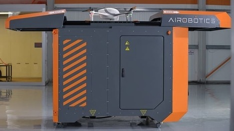 Airobotics battery-swapping platform keeps drones flying around the clock | Gizmag | Cultibotics | Scoop.it