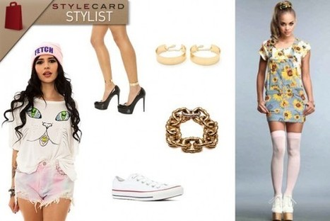 StyleCard Stylist: The Sunflower Garden Overall Skirt | StyleCard Fashion Portal | StyleCard Fashion | Scoop.it