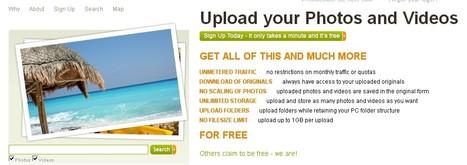 Stocker des photos et vidéos en ligne gratuitement | Funny News | Scoop.it
