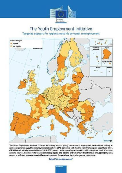 Twitter / EU_Commission: Youth #Employment Initiative: ... | Future of employment | Scoop.it
