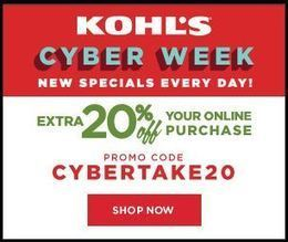 Cisaga Couponing — Kohls Cyber Week 2014. Get Extra 20% Off your... | Best Gadget Reviews | Scoop.it