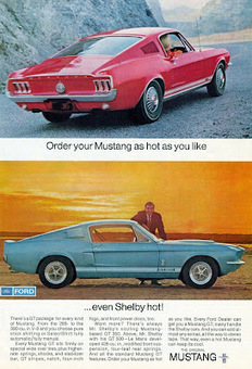Perfect 10. Vintage Ford Mustang Advertisements. - blog*spot | Mustangs | Scoop.it