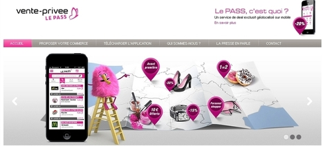 Web to store : Vente Privée lance le Pass + | Web to store | Scoop.it