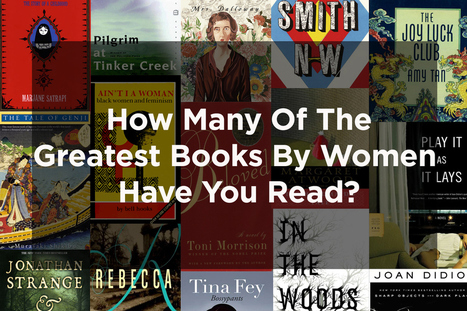 How Many Of The Greatest Books By Women Have You Read? | Reading for English language learners | Scoop.it