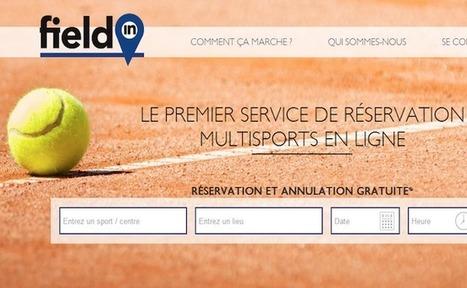 La startup du jour : Fieldin, une plateforme pour réserver vos activités sportives | Start-up | Scoop.it