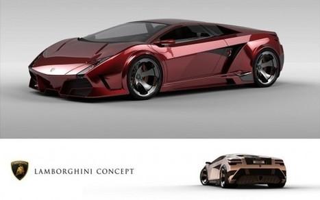 Lamborghini estudia un GT de motor central | Tuning, motor, car audio | Scoop.it