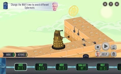 Doctor Who's new web game aims to teach children programming skills - theguardian.com | Education | Scoop.it