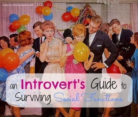 An Introvert's Guide To Surviving Social Functions - Emily C.Gardner   INFP   Scoop.it