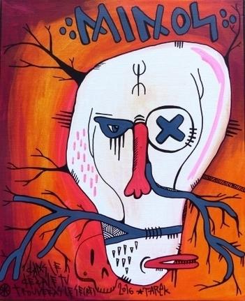 Tarek   Minos - Artsper   The art of Tarek   Scoop.it
