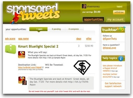 How Do I Make Money with Twitter? – Past, Present & Future | Traffic generation | Scoop.it