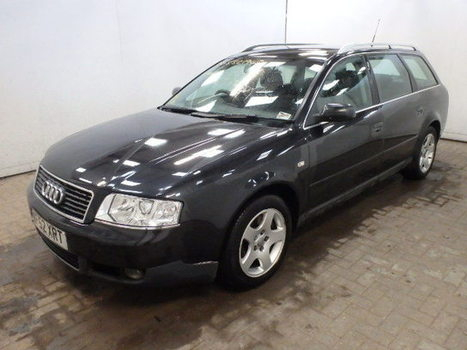 Salvage 2002 black Audi A6 2.5 Tdi with VIN WAUZZZ4B13N on auction   cars   Scoop.it