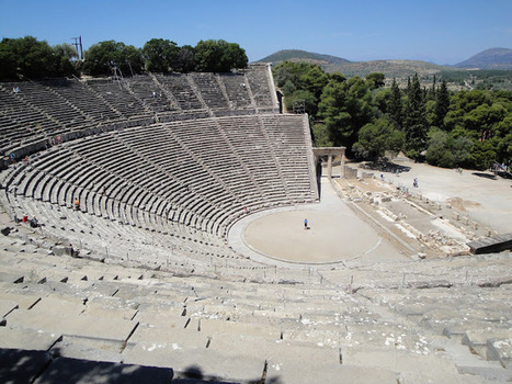 Seats helped ancient Greeks hear from back row | Monde antique | Scoop.it