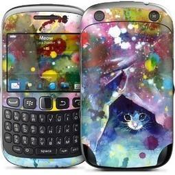 Skin Miaou - Skins BlackBerry Curve 9320 - Skins High-Tech | stickers autocollants décoratifs | Scoop.it