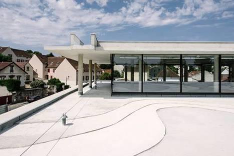 Osny : la nouvelle médiathèque inaugurée le 19 mars | architecture & design en bibliotheques | Scoop.it