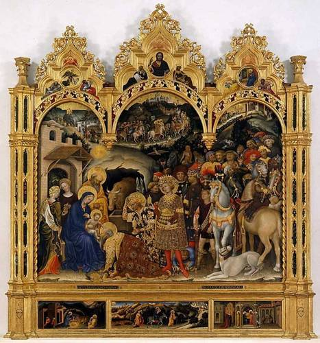 The Adoration of the Magi, Gentile da Fabriano, Le Marche - independent.co.uk | Le Marche another Italy | Scoop.it