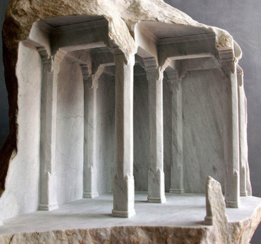 These Structures Are Not Optical Illusions, They Were Carved Directly Into Blocks of Marble - TechEBlog | The brain and illusions | Scoop.it
