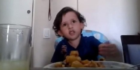 Toddler Tastes Something Fishy, Asks 'What's The Deal Mom?' | Parenting | Scoop.it